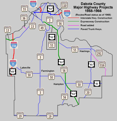 Trunk Highways of Dakota County - A History (Page 3)