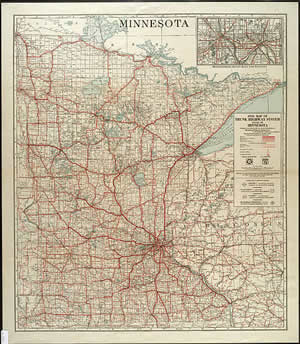 The Evolution of the Minnesota Official Highway Map